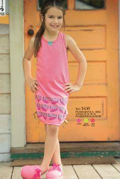 Pijama sisa batola Ref: 1650 Tallas: 2, 4, 6, 8, 12,14,16 Colores: Confite, limón brillante, coral neón
