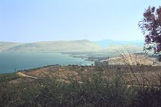 View from the Mount of Beatitudes