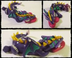 My first fimo dragon by Ladybird18