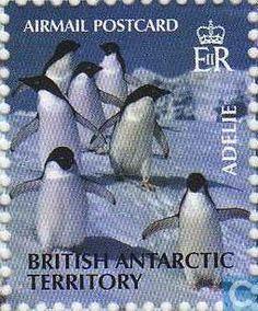 Stamps - British Antarctic Territory - Penguins 2003