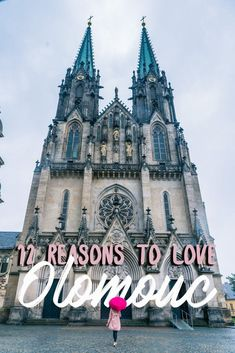 "12 reasons you should visit Olomouc in Central Moravia, Czech Republic. It's often referred to as ""Little Prague"" and for a reason! Hiking Europe, Europe Travel Guide, Europe Destinations, Travel Guides, Travel Plan, Visit Prague, Prague Travel, By Train, Ultimate Travel"