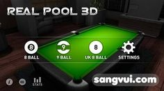 game bida 3d cho android - real pool 3d
