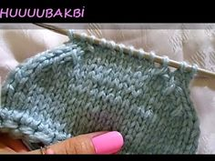 How to crochet the Tunisian Knit Stitch (TKS). A crochet stitch that looks like knitting but it is done using a crochet hook. Baby Boy Knitting Patterns, Knitting Stitches, Knit Patterns, Baby Knitting, Crochet Baby Clothes, Baby Sweaters, Hair Designs, Knitted Hats, Sewing