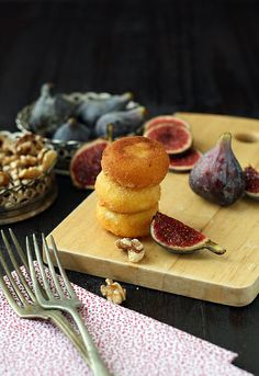 Deep Fried #Babybel Cheese with Fresh #Figs and Walnuts by @SandeeA @TheLaughingCow