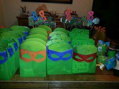 Ninja turtles. Goodie bags