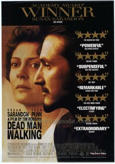 Dead Man Walking : an eyewitness account of the death penalty in the United States / Helen Prejean - the review blurbs on the jacket cover say it all. What a remarkable, powerful, thought-provoking film.