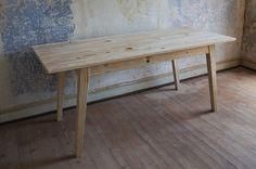 Solenn Design Tisch Knorke 02, Maße 1780 x 790 x 762 mm, extrafeine Holz-Sortierung, Savage Ground