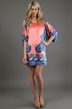 Paisley...tunics look horrible on me, but I love this one!