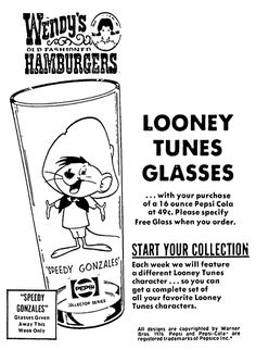 Image result for looney tunes wendys