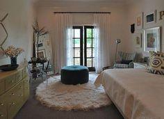 round rug bedroom - Recherche Google