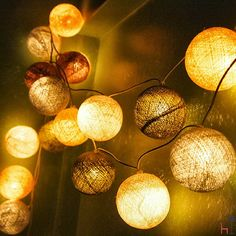 Add some light to your life with the Altiplano string lights by La Case De Cousin Paul.