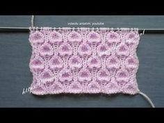 Piliseli Bordür Nasıl Yapılır ? bebek battaniyesi - battaniye kenarı - pilise örgü anlatım - YouTube Unicorn Knitting Pattern, Knitting Stitches, Baby Knitting, Knitting Patterns, Crochet For Kids, Crochet Top, Knots, Baby Kids, Knit Patterns