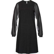 bpc selection Şifon Kollu Elbise - Siyah