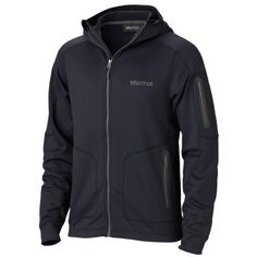 Marmot Men's Norden Fleece Regular fit. Soft, comfortable, mid-weight stretch performance fleece. Durable nylon with brushed back. Quick-drying for minimal heat loss. Stretch for increased mobility.