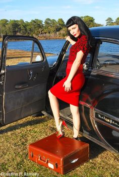 Rockabilly pinup photography
