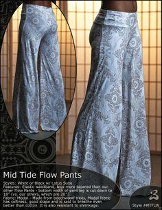 Mid Tide Flow Pants  compfy...