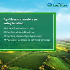 Agriculture is a great opportunity to make income and take the advantage of tax benefits. Check out our beautiful agricultural properties  #Agriculturallands #Farmland #Agricultural #FarmInvestments #Ranches #properties #TaxBenefits #Agriculture #Farming #Nature #LandOwner #Land #Farm #Farmers #PropertyForSale #ReasonstoInvestinfarmland #ReasontoInvestinRealestate