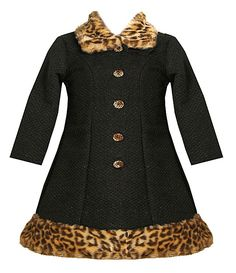 Bonnie Baby Infant Animal-Print Coat & Dress Set | Dillard's Mobile