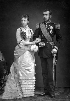 Stefanie en Rudolf - Rodolphe d'Autriche — Wikipédia