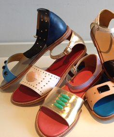 Semi-Precious Shoes! George Esquivel And Irene Neuwirth