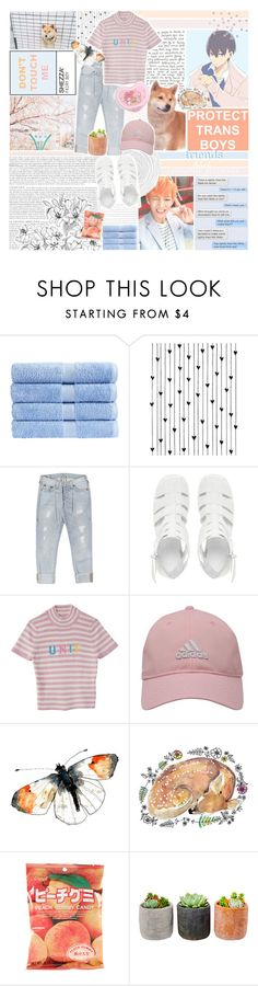 """""""friends + favourite accounts <3"""" by akihabara ❤ liked on Polyvore featuring Christy, Camp, True Religion, ASOS, Lenny, adidas Golf, Shop Succulents and vintage"""