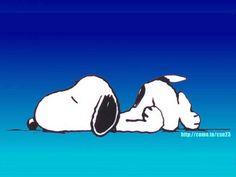 I like to sleep and i love snoopy