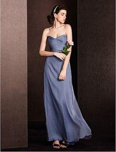 Bridesmaid Dress Floor-length Silk Sheath/Column Sweetheart Dress - http://www.aliexpress.com/item/Bridesmaid-Dress-Floor-length-Silk-Sheath-Column-Sweetheart-Dress/32321575338.html