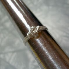 DIY Rosette Wire Wrap Ring