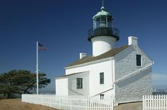Old Point Loma Lighthouse - built in 1855