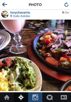 Yum, glad @Tony Gebely Chavarria enjoyed his fajitas!  Thanks for dining with us!
