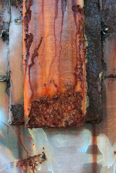 Rust - replicate these colors/patina