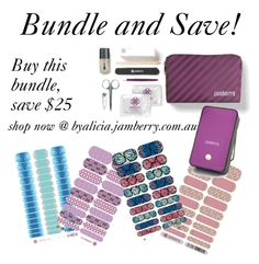 """Jamberry bundle and save"" by agirlsgottodream on Polyvore featuring beauty"