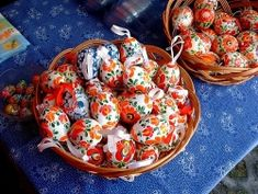 easter eggs from the hungarian town of  - Mezőkövesd