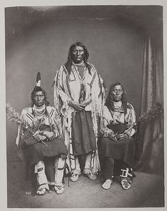 Long Horse, Blackfoot/Sits in the Middle of the Land, White Calf, Crow 1872.