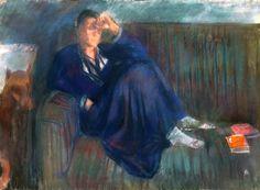 Bernáth, Aurél (1895-1982) Eszter (Mattioni Eszter), 1943 Paintings, Artists, Fictional Characters, Paint, Painting Art, Artist, Painting, Drawings, Pictures