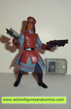star wars action figures CAPTAIN PANAKA 1999 episode I 1 complete hasbro toys