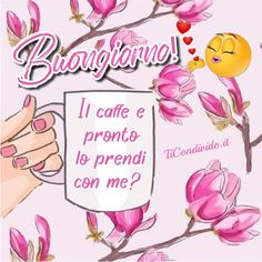 Le più Belle Immagini del Buongiorno! Gratis e Sempre Aggiornate! Italian Memes, Good Morning Coffee, Frases, Buen Dia, Night, Good Morning, Cook, Per Diem, Bonjour