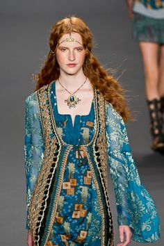 Anna Sui Spring 2014 Collection
