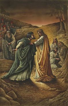 Val Buchkov, The betrayal of Jesus ~ Judas