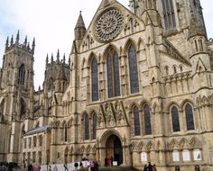 York Minster, York, England. I miss seeing this every time I left my flat and went into town. I miss the bells on Sunday mornings.