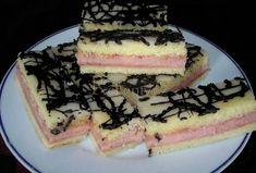 Rychlé punčové řezy - Recepty.cz - On-line kuchařka Irish Stew, Sweet Recipes, Pancakes, Cheesecake, Punk, Breakfast, Food, Morning Coffee, Cheesecakes