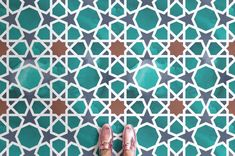 Multi-coloured Islamic Tile Effect Vinyl Flooring Pattern Vinyl Flooring & Lino Flooring Tile Effect Vinyl Flooring, Carpet Flooring, Laminate Flooring, Flooring Ideas, Penny Flooring, White Flooring, Modern Flooring, Rubber Flooring, Flooring Options