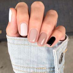Stylish Nails, Trendy Nails, Cute Nails, Casual Nails, Nail Manicure, Gel Nails, Nails Ideias, Acryl Nails, Nagellack Design