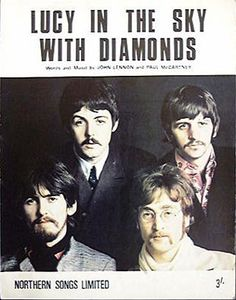 lucy in the sky with diamonds the beatles - Google Search