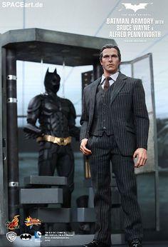 Batman: B. Wayne, A. Pennyworth, Waffenkammer, Deluxe-Figuren (voll beweglich) ... https://spaceart.de/produkte/bm030.php