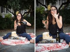 25th Birthday, adult smash cake session. Champagne included! Beschell Photography » Blog