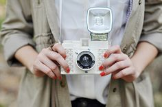 The trend of retro,vintage clothing and technology is a big must in today's youth culture. Going old school with the retro cameras