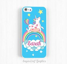 Pink Fluffy Unicorns Dancing on Rainbows by SugarloafGraphics, $15.95