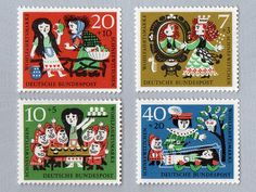 Snow White Stamps (1960)
