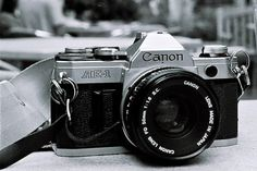 Canon AE-1   *My first love. Too bad she's stuck in a closet since I don't have access to a real darkroom :(